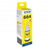 Epson T6644 Yellow Sarı Şişe Mürekkep T66444A
