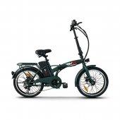 Rks Mx25 Katlanabilir Elektrikli Bisiklet Yeşil