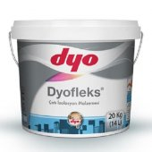 Dyofleks Çatı İzolasyon Malzemesi 20 Kg Beyaz