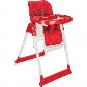 Norfolk Poly Smart Mama Sandalyesi - Sırt Ayarlı ve Kademeli - Kırmızı
