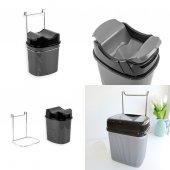 Askılı Pratik Çöp Kovası 5.5 Litre Asılabilir...