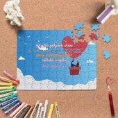Kişiye Özel Romantik Tasarımlı Puzzle -P2
