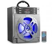 MIKADO MD-455 USB+SD+FM+BLUETOOTH MÜZİK KUTUSU 10W GRİ