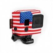XSories Aksiyon Kameralar için Kılıf Amerikan Bayraklı