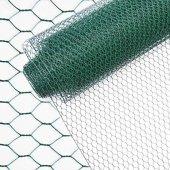 PVC Kaplı Kümes Teli En 120 cm Uzunluk 20 Metre