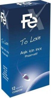 Fe Prezervatif Aşk İçin İnce To Love 12 Li Paket