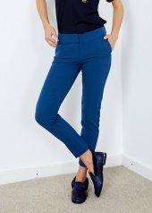Kadın Petrol Cepli Klasik Kesim Pantolon