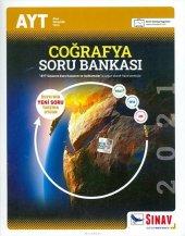 Sınav AYT Coğrafya Soru Bankası 2021 Yeni