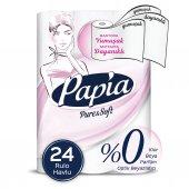 Papia Pure & Soft Havlu 24 Rulo
