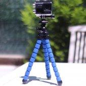 Selfie Ahtapot Tripod Esnek Akrobat Stand...