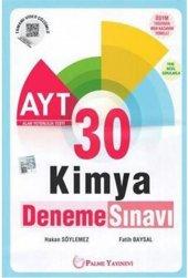 Palme Yks Ayt Kimya 30 Deneme Sınavı *Yeni*
