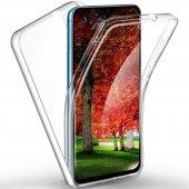 GpackSamsung Galaxy A2 Core Kılıf Ön Arka Şeffaf Silikon Koruma