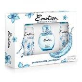 Emotion Ocean Fresh Set 50 Ml Edt + 2 X 150 Ml Deoodorant