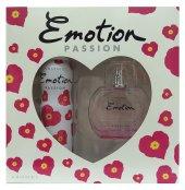 Emotion Passion Set 50 Ml Edt Deodorant 150 Ml Bayan