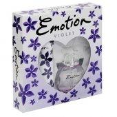 Emotion Violet Set 50 Ml Edt Deodorant 150 Ml Bayan