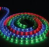 ACK AS01-00104 Kırmızı 12V Tek Çip 60 Ledli Silikonsuz Şerit Led  (5mt)