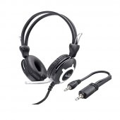 Live A4 Tech Mikrofonlu Pc Kulaklık Aux 3.5mm AS004