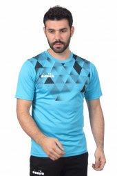 Diadora Alone Antrenman T Shirt Turkuaz