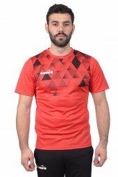Diadora Alone Antrenman T Shirt Kırmızı