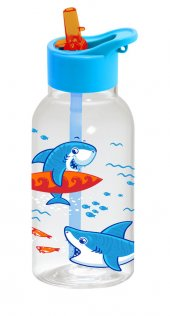 Herevin Pipetli Matara 0.46lt Köpekbalığı Desenli 161807-370