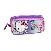 Hello Kitty Çift Bölmeli Kalem Çantası 96829