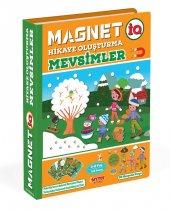 Diy-Toy Magnetiq Hikaye Oluşturma Mevsimler IQ1505