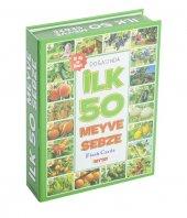 Diy-Toy Flash Cards İlk 50 Meyve Sebze
