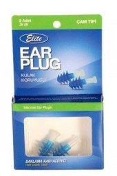Elite Ear Plug Çam Tipi 2li Kulak Koruyucu