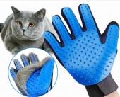 Kedi Tüy Toplama Eldiveni Bakım Masaj Fırçalı...