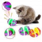 Kedi Oyun Topu İlgi Çekici Çıngıraklı Kedi Yakalama Topu