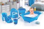 Bebek Banyo Seti Mavi