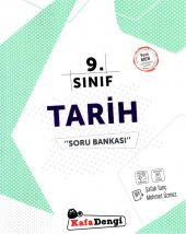 9. Sınıf Tarih Soru Bankası Kafa Dengi Yayınları