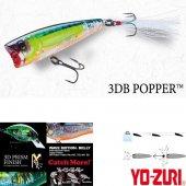 Yozuri 3DB Popper Floating Sahte Balığı