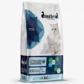 Animal World Sterilised Somonlu Kısırlaştırılmış Kedi Maması 1 Kg