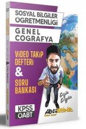 Hocawebde Yayınları 2021 KPSS ÖABT Sosyal Bilgiler Öğretmenliği Genel Coğrafya Video Takip Defteri ve Soru Bankası