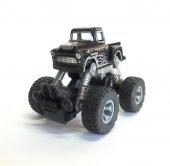 Çek Bırak Metal Canavar Araba 4x4 - XG879-33W-SİYAH