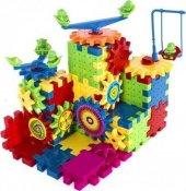 Hamaha Wooden Toys Eğitici Geliştirici Zeka Set 81 Parça Çarklar