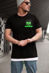 Trair Kuru Kafalı Fosforlu T-Shirt
