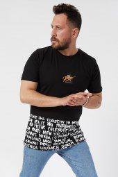 Trair Etekten Baskılı T-Shirt