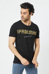 Trair Bısıklet Yaka Spablmxc Baskılı T-Shirt