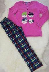 Ba ha polar pijama takımı lila