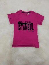 wonder kids 6339 istanbul baskılı kız tişört