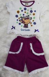bora kız çocuk yazlık pijama takımı