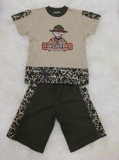 bora erkek çocuk şortlu pijama takımı