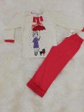 wonder kids kız çocuk uzun kol mevsimlik pijama takımı
