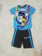 disney mıckey mauseerkek çocuk pijama takımı