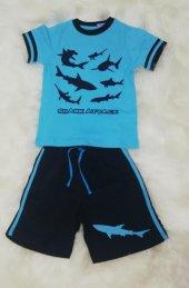 wonderkids 130640 erkek çocuk şortlu pijama takımı