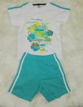 wonderkids 130642 erkek çocuk şortlu pijama takımı