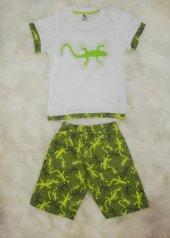 wonderkids 130657 erkek çocuk şortlu pijama takımı