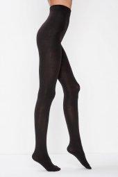 Kadın Siyah Termal Külotlu Çorap